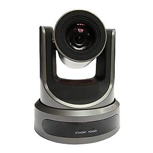 PTZOptics 20X NDI GY 20x Lens NDI Camera Gray