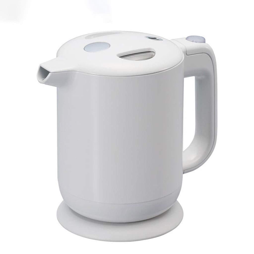 高速配送 HEMFV 家庭用二重壁のコードレス電気ケトル、1リットルの簡単なお手入れ、焦げ付き防止、高速沸騰、自動シャットオフおよび沸騰乾燥防止 (色 : 白)  白 B07QS7XZ2W, プリザーブドフラワーIPFA 51e366a4