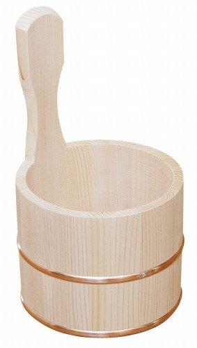 木製 湯桶 片手 湯おけ 片手桶