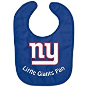 WinCraft NFL New York Giants WCRA2048814 All Pro Baby Bib