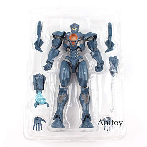 Viet FX Pacific Rim Uprising Jaegers Gipsy Avenger Bracer Phoenix Titan Redeemer PVC Side Jaeger Action Figure Collectible Model Toy ()