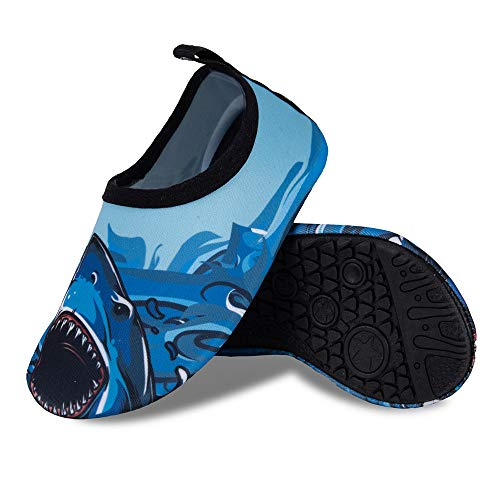 Kids Water Swim Shoes Barefoot Aqua Socks Shoes Quick Dry Non-Slip Baby Boys /& Girls