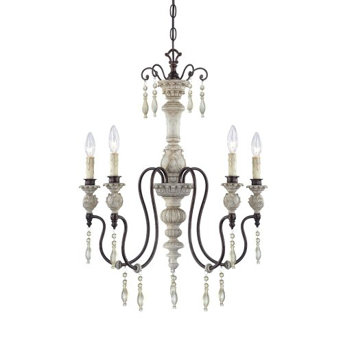 Millennium Lighting 7305-AW/BZ Chandelier