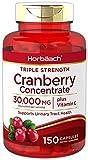 Best Cranberry Pills - Horbaach Cranberry (30,000 mg) + Vitamin C 150 Review