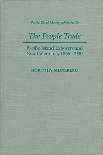 En bog download Shineberg: The People Trade PIMS 16 (Pacific Islands Monograph) PDF