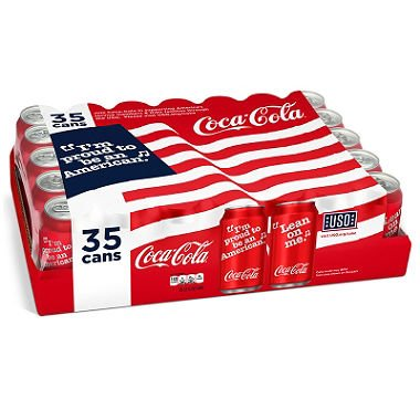 Coca-Cola (12 oz. cans, 35 pk ) (pack of 6) by Coca-Cola