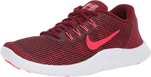 Nike Women's Flex 2018 Rn Team Red/Flash Crimson Ankle-High Running - 8.5M