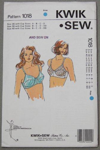 Uncut & OOP McCall s Patterns Kwik Sew 1018 tallas de sujetador patrón de costura
