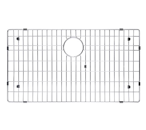 "KRAUS KBG-100-32 Stainless Steel Bottom Grid for KHU100-32 Single Bowl 32"" Kitchen Sink, 29 9/16"" x 16 9/16"" x 1 3/8"" by Kraus (Image #5)"