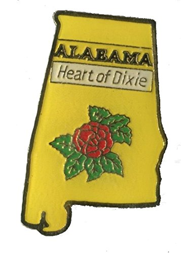 State Shaped Pin, Hat, Tie, Lapel, Etc. All States Available (Pin Dixie)