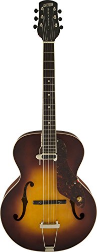 (Gretsch Guitars 9555 New Yorker Archtop Acoustic-Electric Guitar Sunburst)