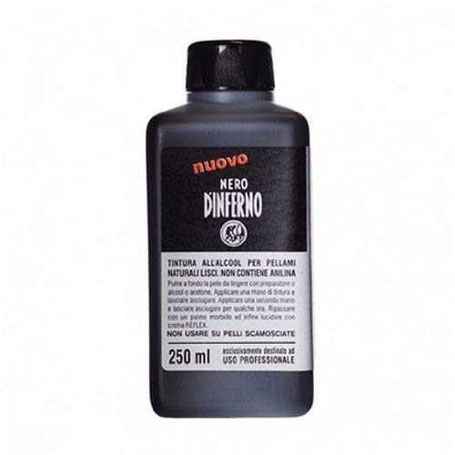 Nero D'Inferno - High Staining Leather Dye / Ink - 250ml - Supplied By Graff-City (Black) by Nero - Nero Inferno