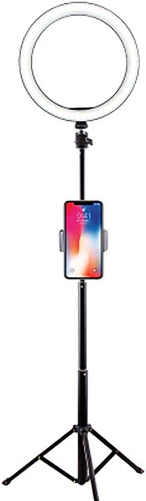 FGAITH Simple Annular Fill Light Led Lights Up The Desktop Phone Holder Selfie Fill Light Illumination Lamp to Live Makeup Mirror Lights Photography Light