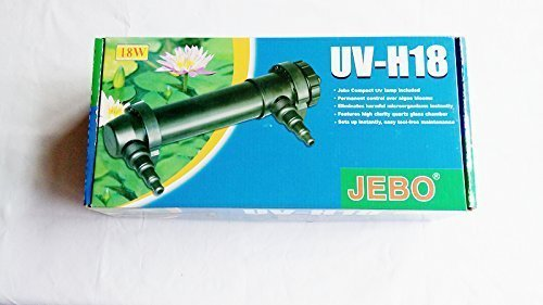 Jebo 18w Uv Ultraviolet, for Aqaurium and Pond, Need Working with Pump