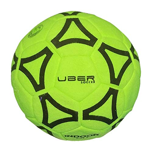 Uber Soccer Indoor Felt Ball - Green - Size 5
