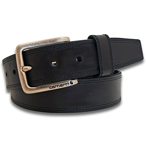 Carhartt Hamilton Men's Leather Belt CH-22504 Black 46