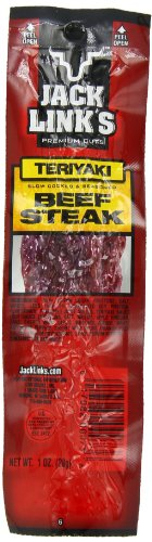 Jack Link's Premium Cuts Beef Steak, Teriyaki, 1-Ounce (Pack of (Jack Links Chicken)