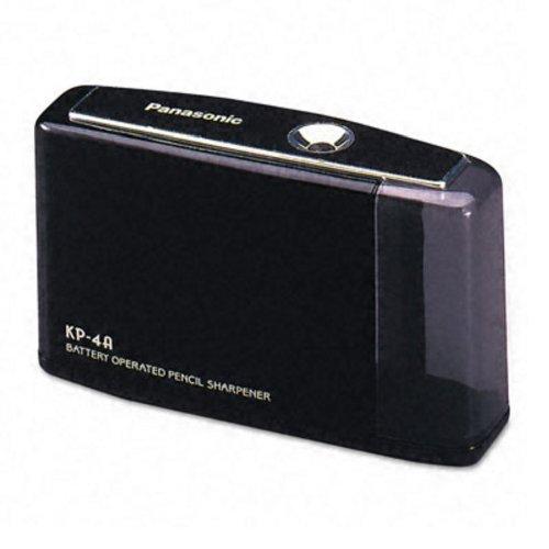 Panasonic KP4A-BK Kp-4a battery pencil sharpener, black, 1 Unit by Panasonic