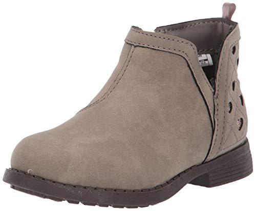 OshKosh B'Gosh Girls' Raine Fashion Boot, Taupe, 12 M US Little Kid
