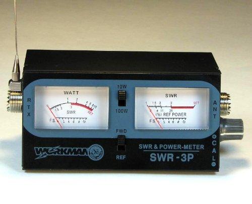 Swr Power Meter : Compact radio power swr meter cb watts w