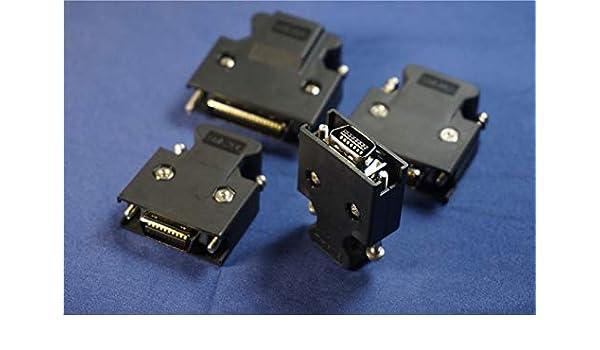 1Pcs SCSI 36 pin MDR mâle CN Solder Plug Connecteur Shell Kit Bouclier Pour Câble