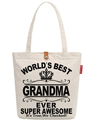 Handbag Ever Tote Best Canvas Women's So'each Grandma Shopping World's Bag qfSxI0wX