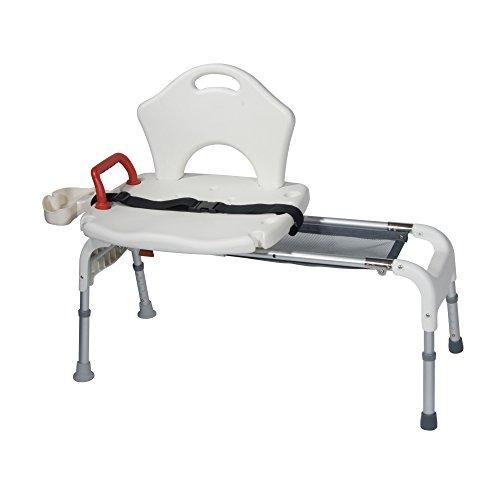 Drive Medical Folding Universal Sliding Transfer Bench by Drive Medical (Image #1)