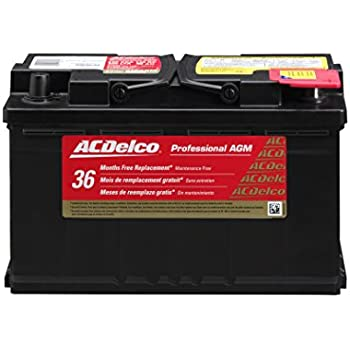 Amazon Com Acdelco 94ragm Professional Agm Automotive Bci Group 94r
