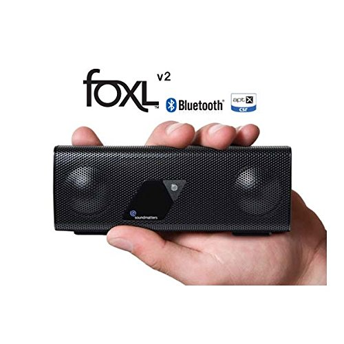 Soundmatters foxLv2 Bluetooth Loudspeaker System (Black) (Old Version) by SoundMatters