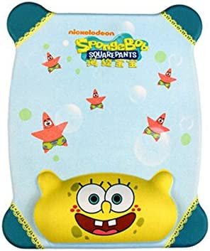 Sponge-Bob Stylish Printing Design is Durable and Green Mouse Pad