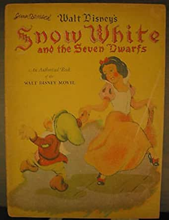 1938 snow white and the seven dwarfs book