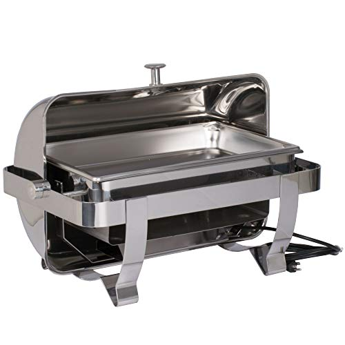 - Vollrath 46529 9 Qt. Orion Retractable Electric Chafer Full Size 120V