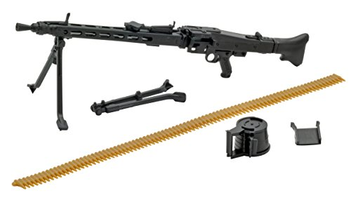 Tomytec Little Armory LA027: MG3 Type Plastic Model Kit - German Mg42 Machine Gun