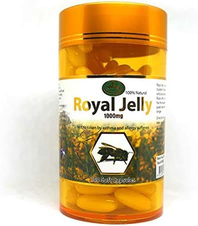 Nature King Royal Jelly 1000MG (100 Capsules).
