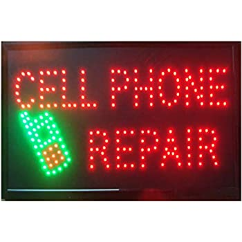 CHENXI Phone repair led shop signs 48X25 CM Graphics ...