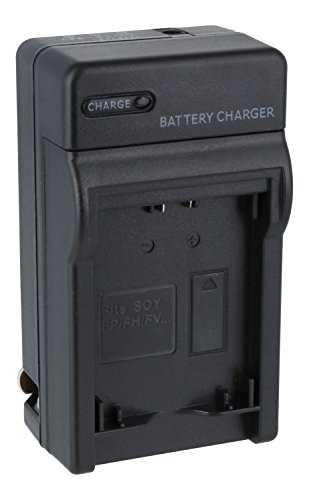 Price comparison product image Sony DSLR-A380 Compact Battery Charger - Premium Quality TechFuel Battery Charger