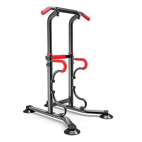 HT&PJ Het multifunctionele Power Rack met 6 standen kun je meerdere spieren op verschillende manieren trainen.