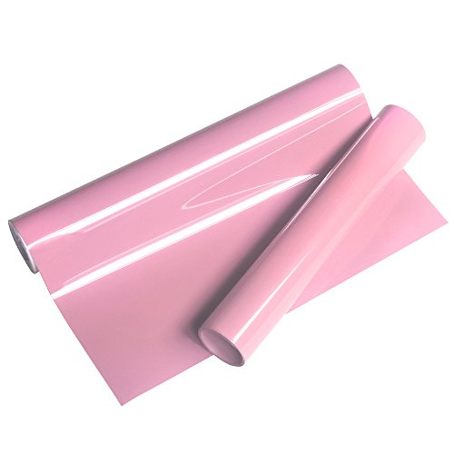 VINYL FROG Premium Pink Heat Transfer Vinyl PU 10