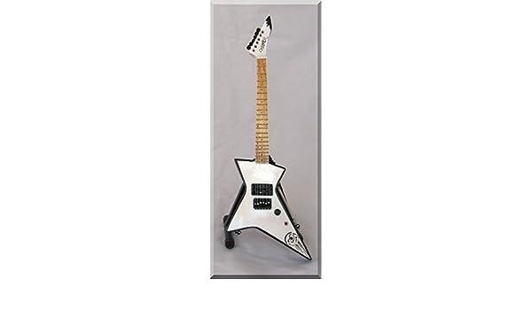 Glenn Tipton Guitarra Miniatura Hamer Judas Priest: Amazon.es ...