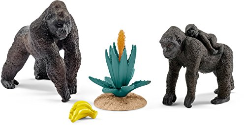 Schleich Gorillas Play Set