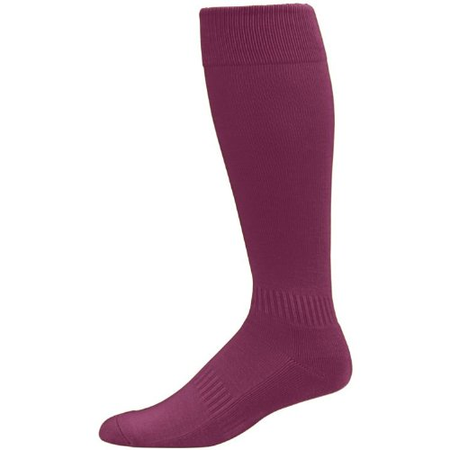 Maroon Youth Multi-Sport Socks (Baseball, Soccer, Football, Lacrosse, Softball)