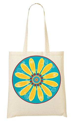 Shopping Borsa Gialla Mandala Bag Mandala Shopping PnvqCq7