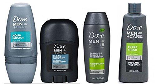 dove-mens-deodorant-body-wash-extra-fresh-aqua-impact-roll-on-2-in-1-shampoo-conditioner-travel-size