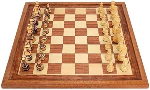 WJMLS Juegos de ajedrez for Adultos y niños Tablero de Juego ...