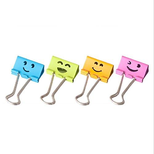 colored bulldog clips - 4
