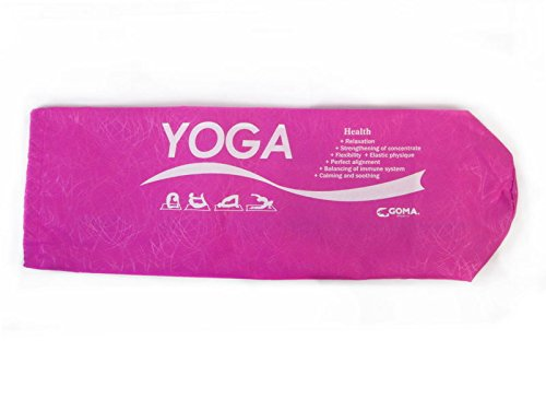 GOMA GA815/PH Bag for Yoga Mat, Pink, Fits Most Size Mats