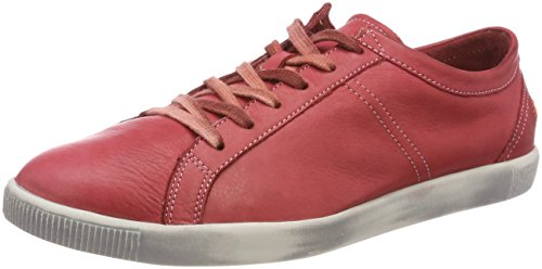 Softinos Tom Washed, Sneaker Uomo Rosso (Rosso)