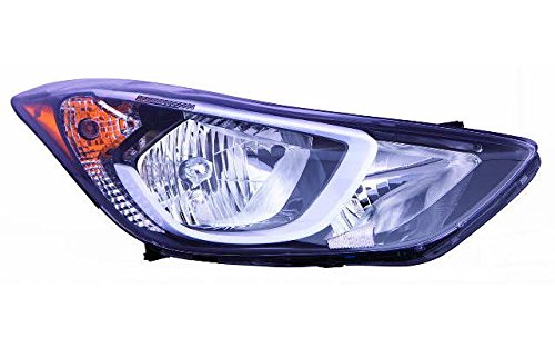 Hyundai Elantra Headlight Assembly (Depo 321-1149R-AF2 Headlight Assembly)