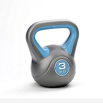 York Fitness - Pesa rusa (vinilo) Blue 3kg Talla:3kg: Amazon.es: Deportes y aire libre