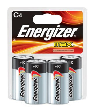 ENERGZR MAX BATT C CD4 by ENERGIZER LLC